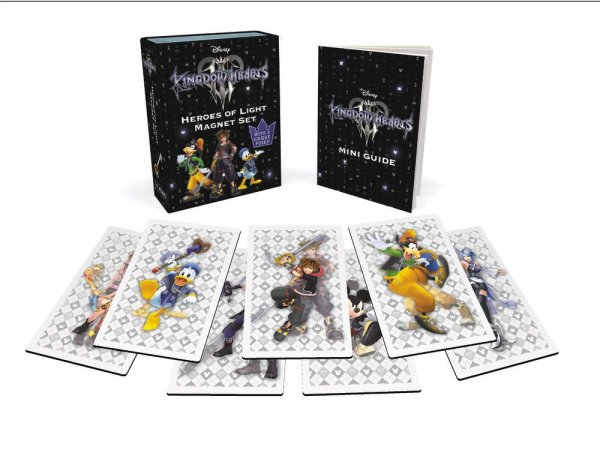 Kingdom Hearts Heroes of Light Magnet Set