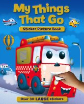 My Things That Go Sticker Picture Book