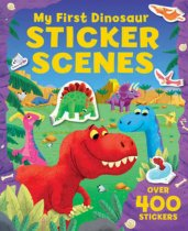 My First Dinosaur Sticker Scenes