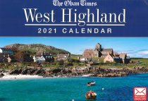 2021 Calendar Oban Times West Highlands
