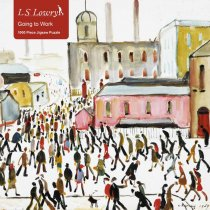 Jigsaw L.S. Lowry: Going to Work 1000pc