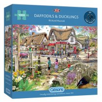 Jigsaw Daffodils and Ducklings 1000pc