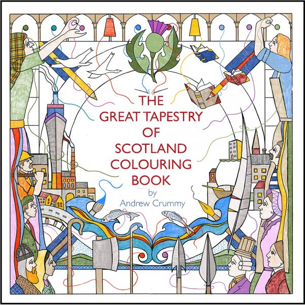 Great Tapestry, The Colouring Book (May)