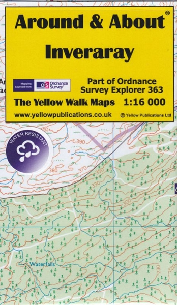 A&A Map Inveraray & Walks