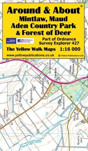 A&A Map Mintlaw, Maud, Aden Country Park, Forest of Deer