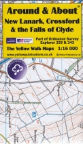 A&A Map New Lanark, Crossford & the Falls of Clyde