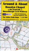 A&A Map Rosslyn Chapel & Penicuik Musselburgh Cycle-Walkway