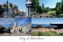 Aberdeen Comp 2 - City of Aberdeen Postcard (HA6)