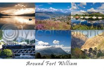 Around Fort William Composite Postcard (H A6 LY)