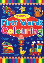 Bumper First Words Colouring