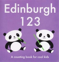 Edinburgh 123 - Board Book