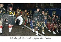 Edinburgh Streets After Tattoo (HA6)