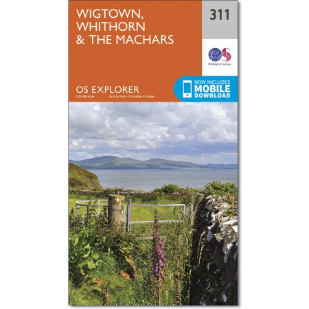Explorer 311 Wigtown, Whithorn & The Machars