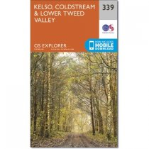 Explorer 339 Kelso, Coldstream & Lower Tweed Valley