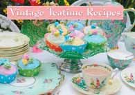 Favourite Vintage Teatime Recipes