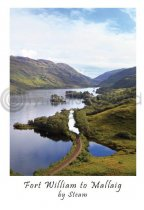 Fort William to Mallaig by Steam Postcard (VA6)