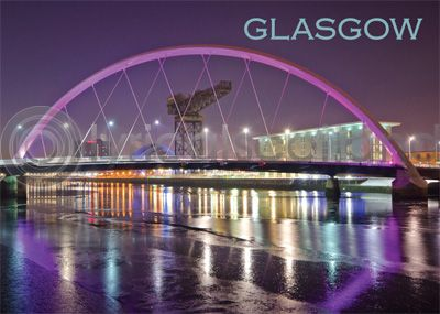Glasgow - Clyde Arc & River Clyde Magnet (H)