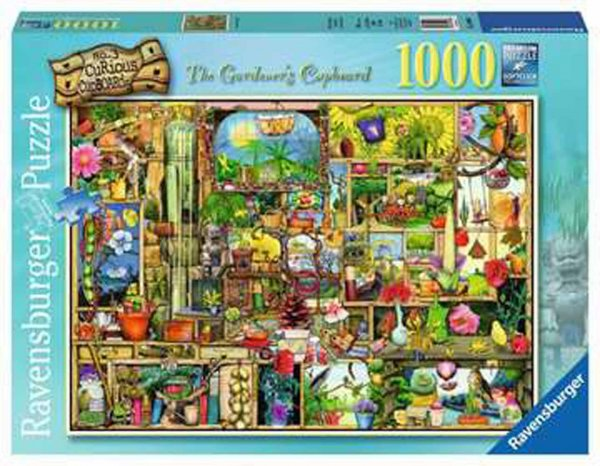 Jigsaw Gardener's Cupboard 1000pc