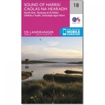 Landranger 18 Sound of Harris