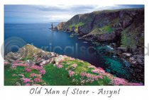 Old Man of Stoer - Assynt Postcard (HA6)