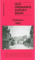 Old OS Map Colinton 1893
