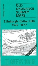 Old OS Map Edinburgh (Calton Hill) 1877