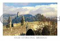 Old Strling Bridge & Wallace Monument (HA6)