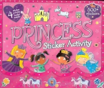 Princess Sticker Activity Carry Case