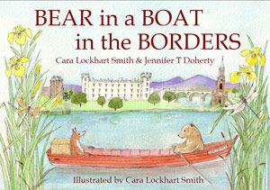 Bear in a Boat in the Borders