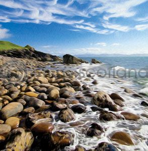 Shore, Applecross (Art)