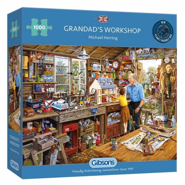 Jigsaw Grandad's Workshop 1000pc