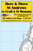 H&T Map St Andrews to Crail & St Monans