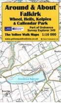A&A Map Falkirk, Wheel, Helix, Kelpies & Callendar Park