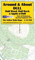 A&A Map Dull, Dull Wood, Dull Rock & Appin of Dull