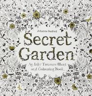 Secret Garden: An Inky Treasure Hunt Colouring Book