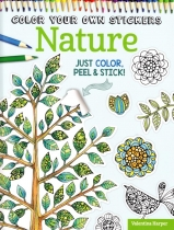 Colour Your Own Stickers: Nature