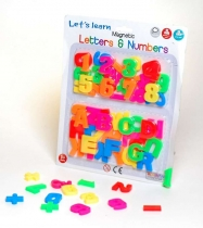 Let's Learn Magnets Letters & Numbers