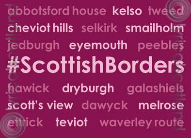 #ScottishBorders Magnet (H) (Apr)