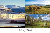 Isle of Mull Composite 1 Postcard (HA6)