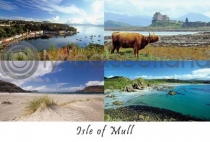Isle of Mull Composite 2 Postcard (HA6)