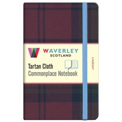 Tartan Cloth Notebook: Lindsay