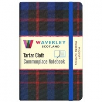Tartan Cloth Notebook: MacDuff Modern Hunting