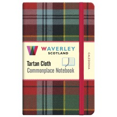 Tartan Cloth Notebook: Caledonia