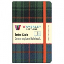 Tartan Cloth Notebook: Davidson Ancient