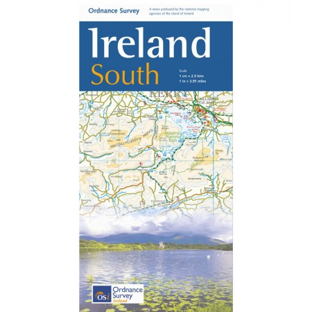 Map of Ireland South