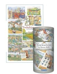 Jigsaw Yorkshire Gift Tube 250pc