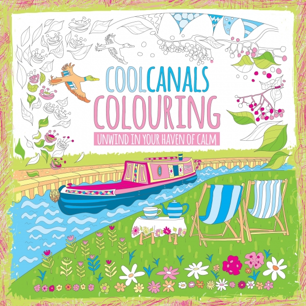 Cool Canals Colouring Book