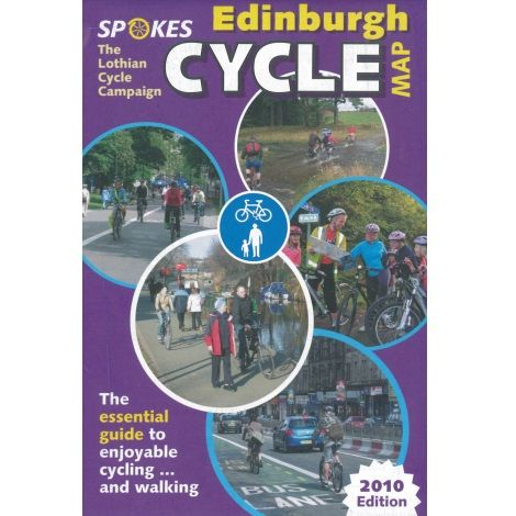 Edinburgh Cycle Map