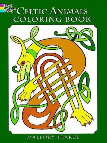 Celtic Animals Colouring Book