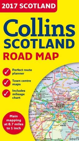 2017 Collins Scotland Road Map